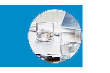fuente de agua para empresa