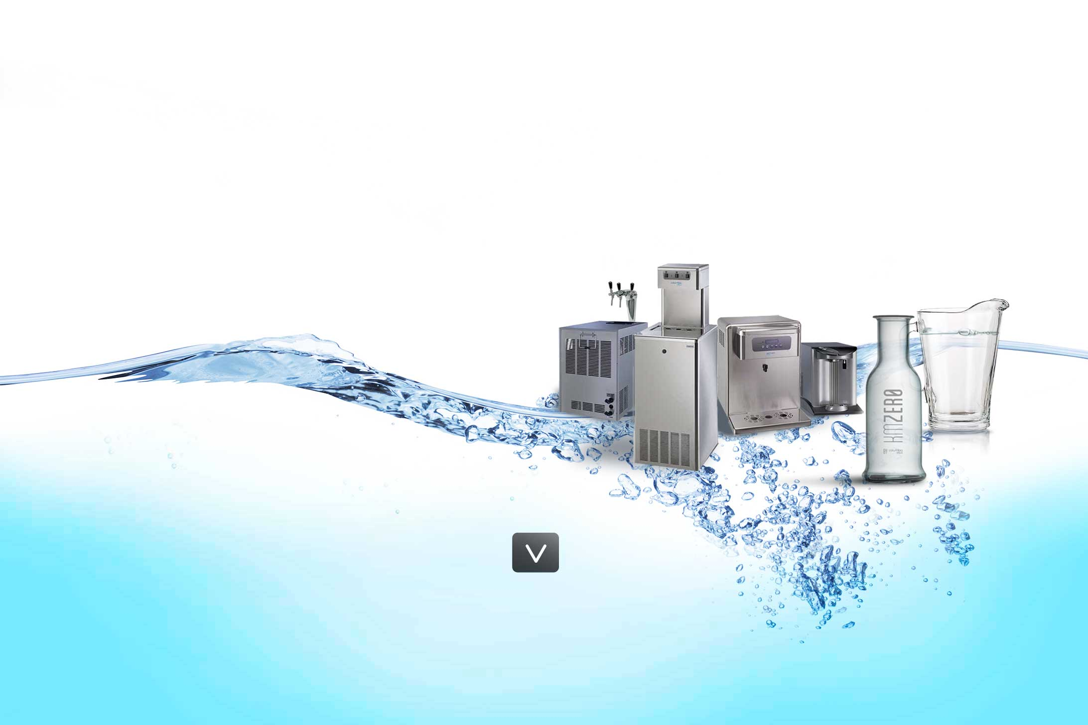 maquina de agua horeca