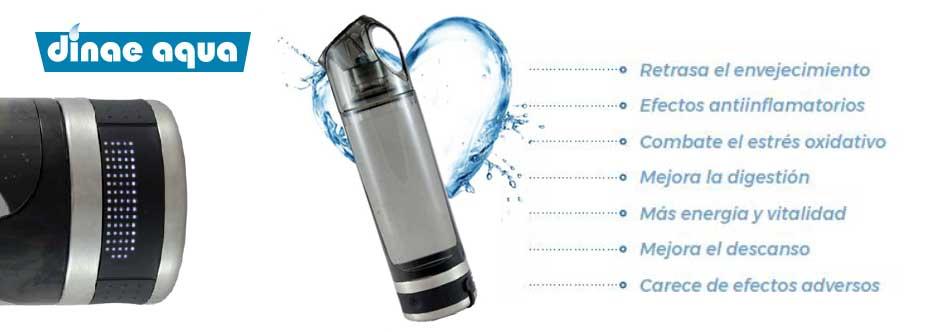 agua hidrogenada malaga