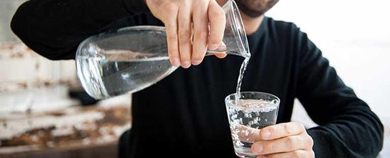 fuente de agua para restaurantes