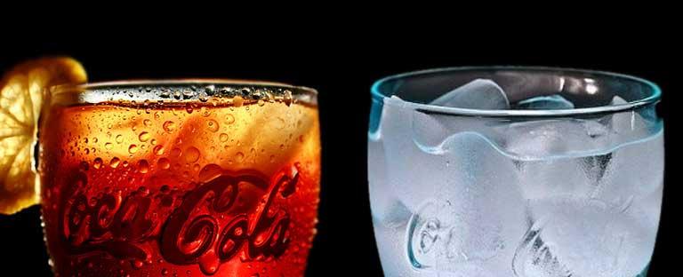 refrescos vs agua