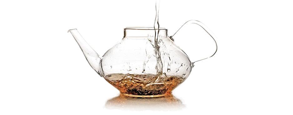 agua en el te